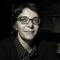 Judith Sautereau et ses nouvelles lunettes.