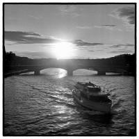 Paris, la Seine. #Rolleipaul