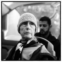 Dans le bus, Paris. #Rolleipaul