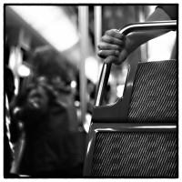Paris, métro. #Rolleipaul
